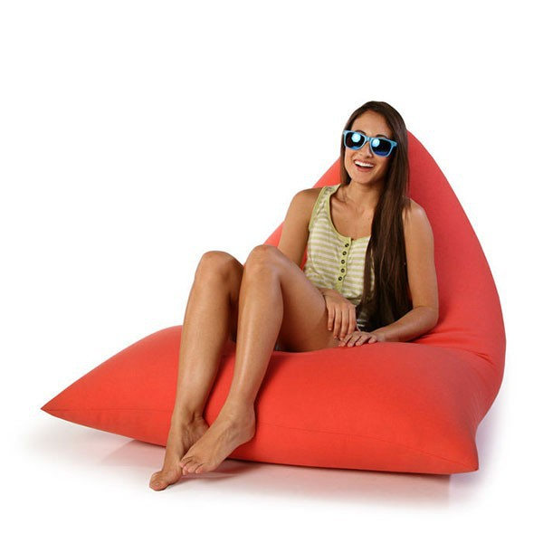 Adult Triangle Beanbag For Indoor And Outdoor