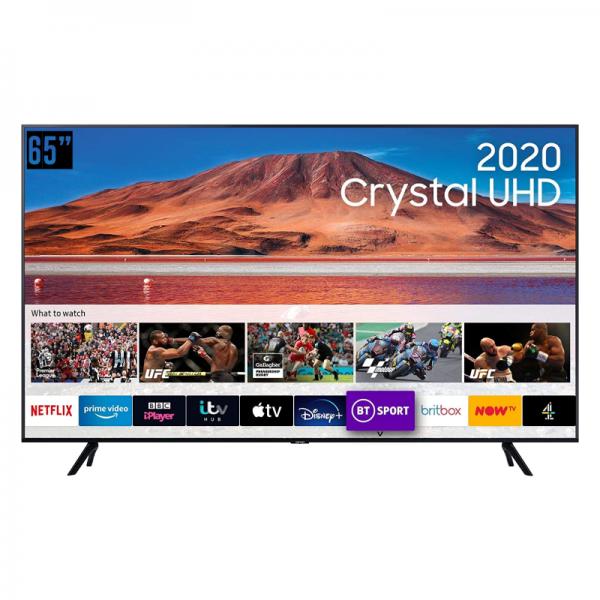 SAMSUNG 65″ TU7000 Crystal UHD 4K Smart TV 2020